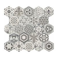 Hexatile Harmony BW 17,5x20