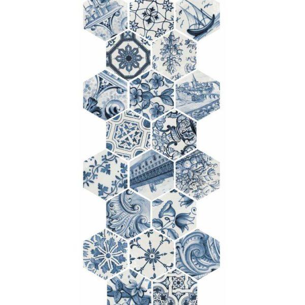 Lisboa Hexatile Patchwork 17,6×20,1