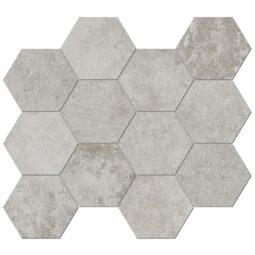 Obklad Heritage Kaolin hexagon 30x34