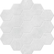 Dlažba Perla Decor Hexagon 21,3×23,1