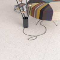 Dlažba Stracciatella 20x20 terrazzo obývací pokoj_2