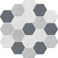 Dlažba Trail Mix dekor hexagon 21,3x23,1