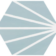 Hexagon Meraki Aquamarina 19,8×22,8