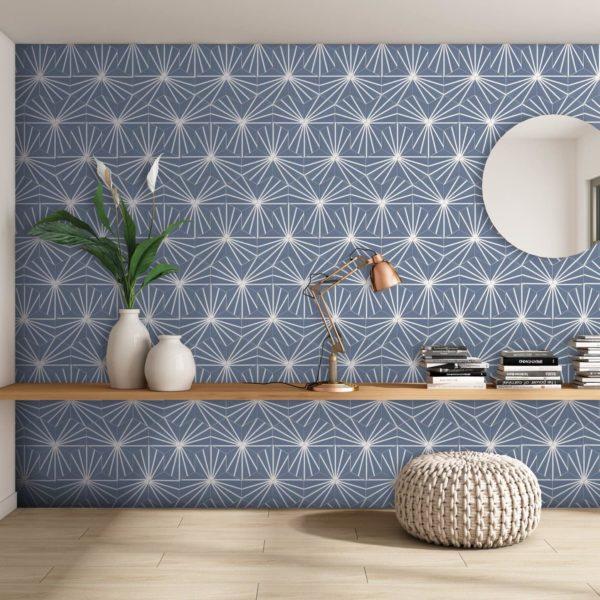 Hexagon Meraki Azul
