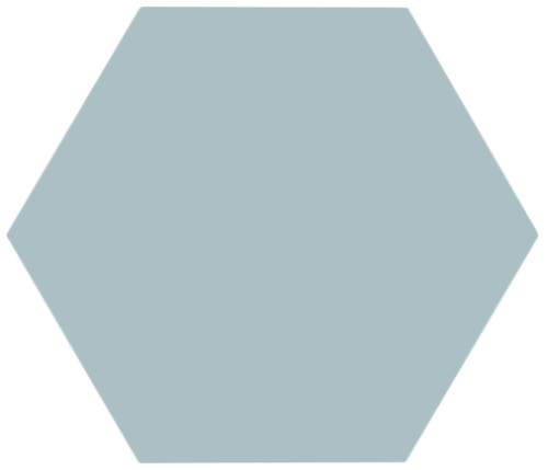 Hexagon Meraki Base Aquamarina 19,8×22,8
