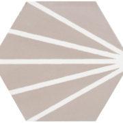 Hexagon Meraki Gris 19,8×22,8