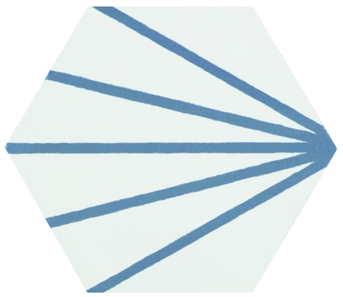 Hexagon Meraki Line Azul 19,8×22,8