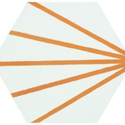 Hexagon Meraki Line Mostaza 19,8x22,8