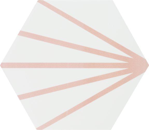 Hexagon Meraki Line Rosa 19,8×22,8