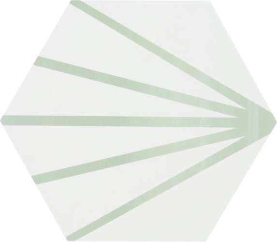 Hexagon Meraki Line Verde 19,8×22,8