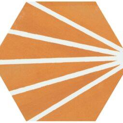 Hexagon Meraki Mostaza 19,8x22,8