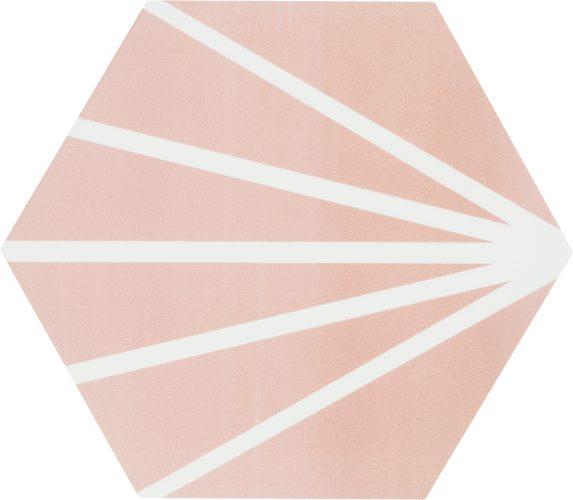 Hexagon Meraki Rosa 19,8×22,8