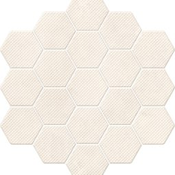 Trail Bone decor hexagon 21,3x23,1