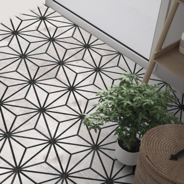 Tribeca Hex Grey interiér