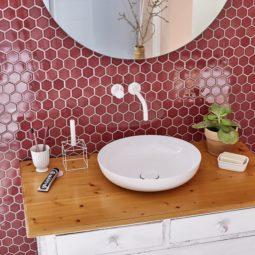 Koupelna Mozaika Hexagon