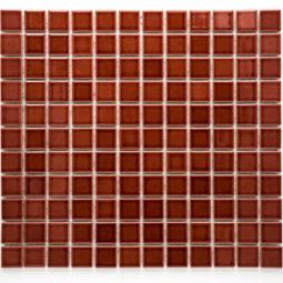Mozaika Brick glaz. vínová lesk B1S 5532