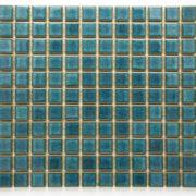 Mozaika Brick glaz. zeleno-modrá lesk B1SBL3