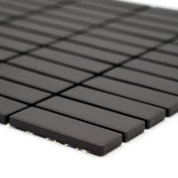 Mozaika Brick neglazovaná černá mat B06R GI 7003_2