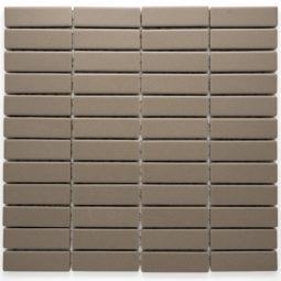 Mozaika Brick neglazovaná šedá mat B06R GI 7004