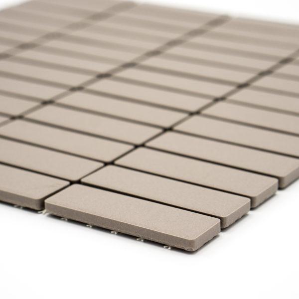 Mozaika Brick neglazovaná světle šedá mat B06R GI 7002_2