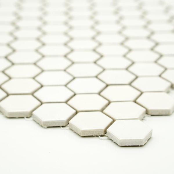 Mozaika Hexagon H HX 250 bílá 2,3×2,6 mat_2