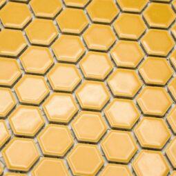 Mozaika Hexagon H HX 270 žlutá 2,3x2,6 lesk_1