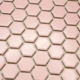 Mozaika Hexagon H HX 5531 růžová 2,3x2,6 lesk_2