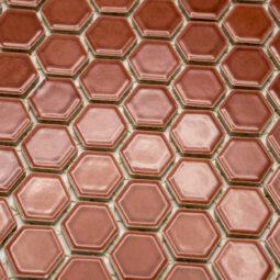 Mozaika Hexagon H HX 5532 vínová 2,3x2,6 lesk_1