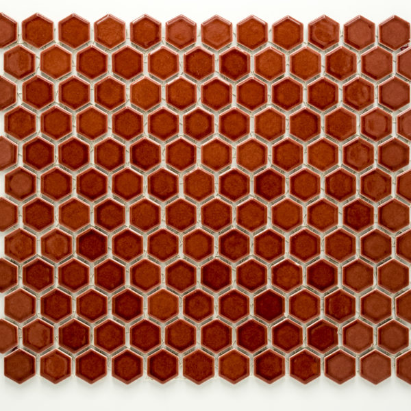 Mozaika Hexagon H HX 5532 vínová 2,3×2,6 lesk_2