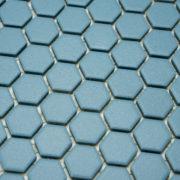 Mozaika Hexagon H HXA 23 modrá 2,3×2,6 mat protiskluz_1