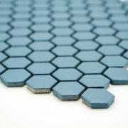 Mozaika Hexagon H HXA 23 modrá 2,3×2,6 mat protiskluz_2