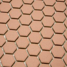 Mozaika Hexagon H HXA 24 hnědá 2,3x2,6 mat protiskluz_1