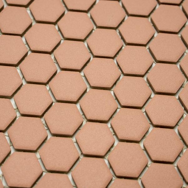 Mozaika Hexagon H HXA 24 hnědá 2,3×2,6 mat protiskluz_1
