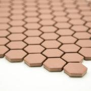 Mozaika Hexagon H HXA 24 hnědá 2,3×2,6 mat protiskluz_2