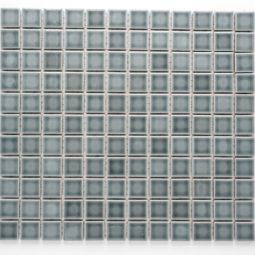 Mozaika Palette Uni B185772 šedá lesk