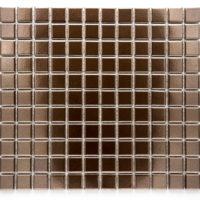 Mozaika Palette Uni glaz. měděná lesk B1S Copper