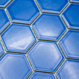 Mozaika Hexagon H HXL 6471 modrá 5,1x5,9 lesk_2