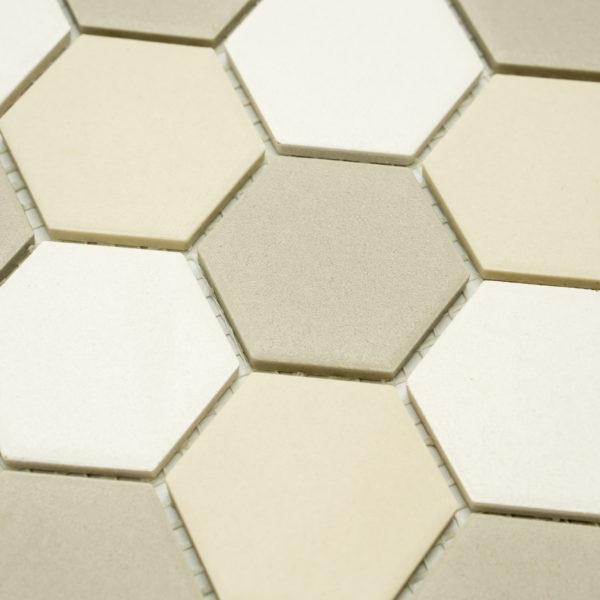 Keramická glazovaná mozaika bílý mix_2