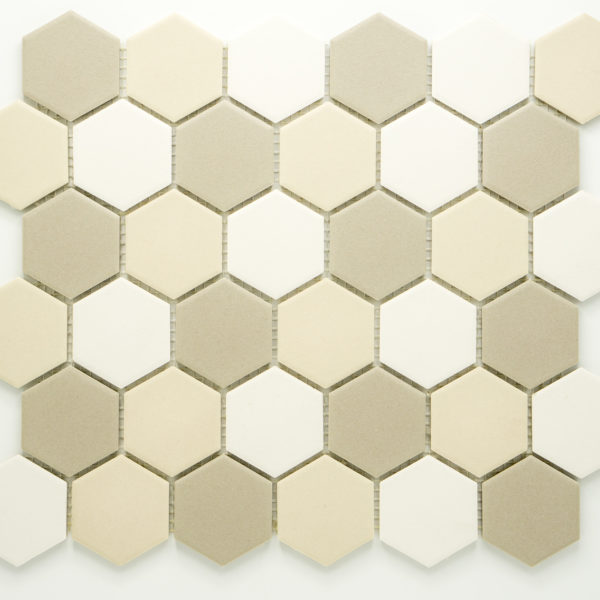 Keramická glazovaná mozaika bílý mix_3