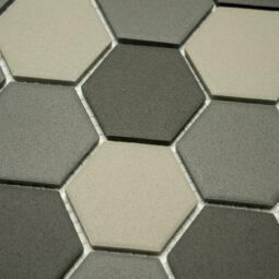 Keramická glazovaná mozaika šedý mix_2