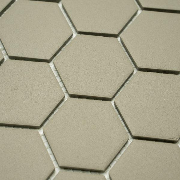 Keramická glazovaná mozaika světle šedá_2