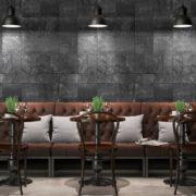 Dlažba imitace kamene Nativa interiér restaurace