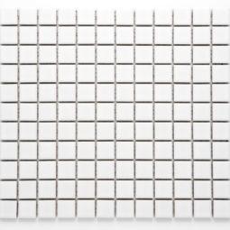 Mozaika Palette Uni glazovaná bílá mat BLN 90_1