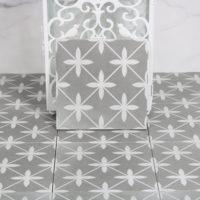 Retro dlažba Laurent Dekor 120 18,6x18,6