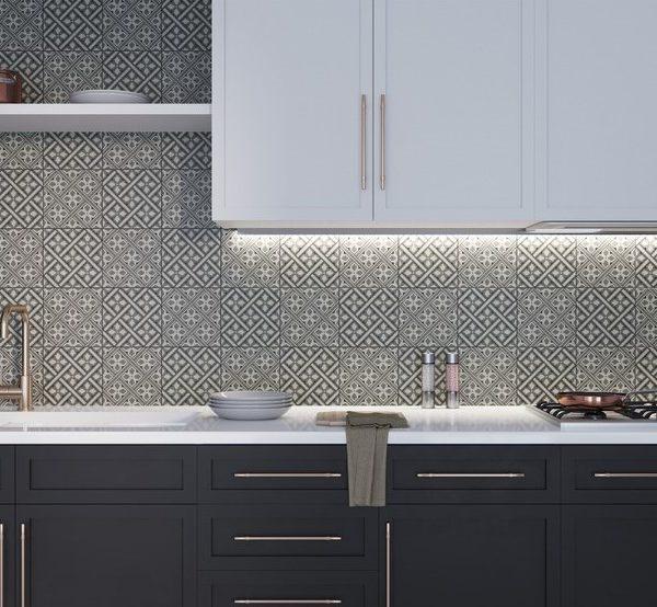 Retro obklad Laurent mix dekorů kuchyně