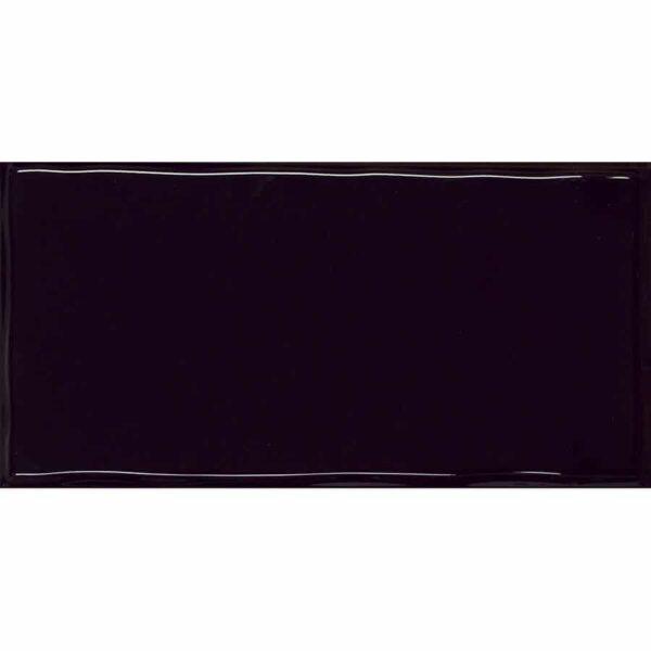 Obklad Trendy Off Black Glossy 12,5×25