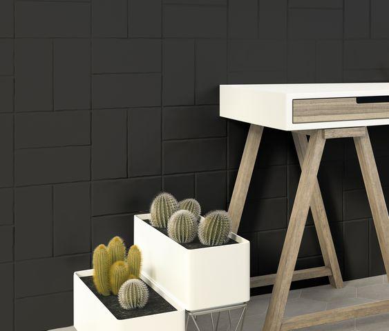 Trendy Off-black matt