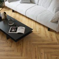 Dlažba imitace dřeva Grapia Sabbia obývací pokoj_2
