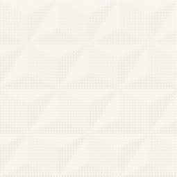 Obklad Good Look White Satin Geo Structure 29x59