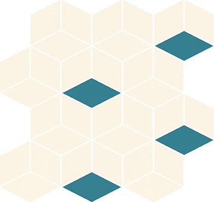 Mozaika Colour Blink Mosaic Diamond Mix 28×29,7